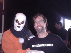 Me and a fan at Monsterpalooza!